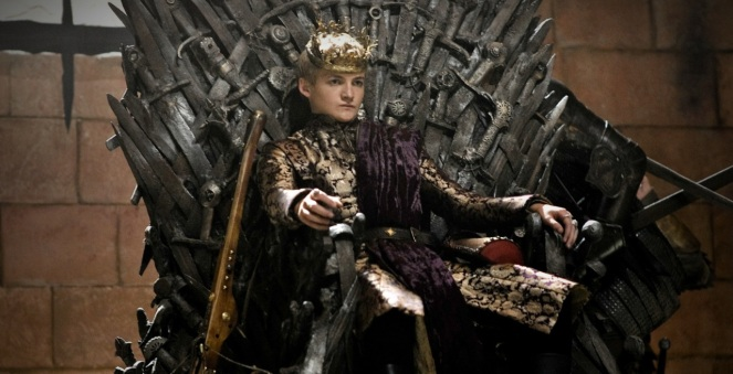 Joffrey - Game of Thrones Image credit - Game of Thrones Wikia.