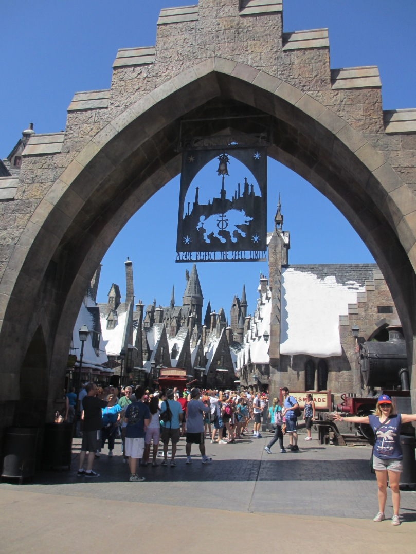 Entry to the Wizarding World of Harry Potter