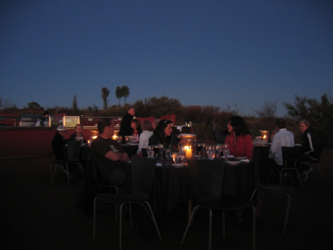 Sounds of Silence dinner at Uluru http://www.ayersrockresort.com.au/sounds-of-silence/