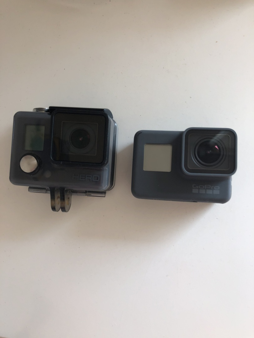 GoPro Hero 2014 vs 2018